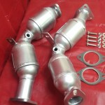 Nissan 350Z Pair of Front Catalytic Converter ... product image