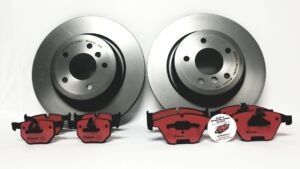 OEM_Brakes for Audi A4 / A5 Complete Brake Package Front and Rear Set 2008 2009 2010 2011 2012