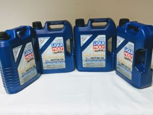 OEM_Engine_Oil for LIQUI MOLY 5W40 LEICHTLAUF HIGH TECH (5L) JUGS 4-PACK