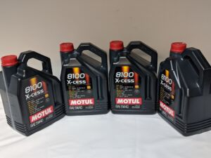 OEM_Engine_Oil for MOTUL X-CESS 8100 5W40 (5L) JUGS 4-PACK HIGH PERFORMANCE 100% Synthetic OIL